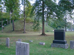 The Mound in Mound Cemetery