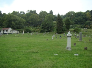 Harmar Cemetery overview photos