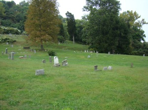 Harmar Cemetery looking northwest