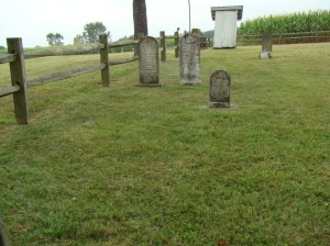Older part of Berg Cemetery