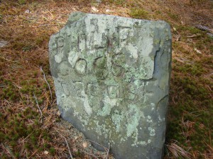 Old Settlers Cemetery, Lancaster, MA Philip Goss 1650 to 1698
